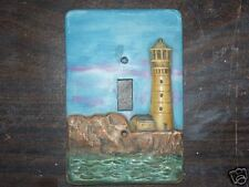 Ceramic mold, Jay-Kay switch plate cover Light house