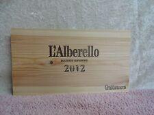 2012 l'alberello Grattamacco Holz Wein Verkleidung Ende