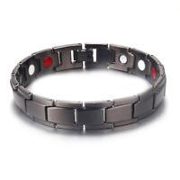 Titanium Germanium Magnetic Bracelet Anion Energy Quantum Radiation Anti-Fatigue