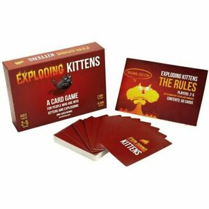Exploding Kittens Card Game Party Game