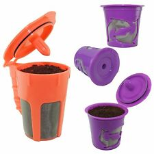 Keurig 2.0 K-cups K-Carafe Refillable Reusable Coffee Filter Pod Combo Most 2.0