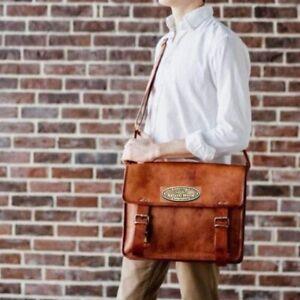 """13"""" Messenger Laptop Satchel Shoulder Bag Men's Vintage Genuine Men's & Women's"""