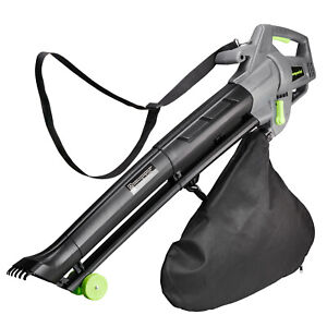 Emperial 3000W Leaf Blower 3-in-1 - Blows, Vacuums and Mulches Leaves - 35L Bag