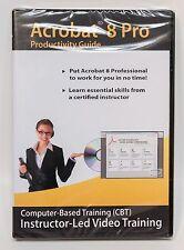 Amazing eLearning ADOBE ACROBAT 8 Pro CBT Instructor-led video training lessons