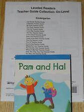 Storytown Grade K On Teacher's Guide's + Leveled Readers 30 Books Kindergarden