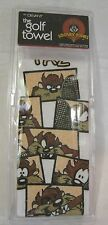 Taz Looney Tunes Tasmanian Devil Golf Tennis Towel New Old Stock