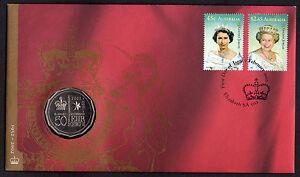 Australia - 2002 QEII Accession Golden Jubilee PNC - CV $275