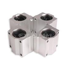 4pc SC20UU 20mm Aluminum Linear Motion Ball Bearing Slide Bushing for CNC E0Xc