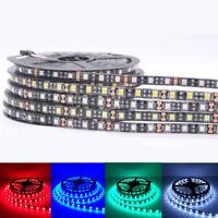 LED Strip 5050 Black PCB DC12V Flexible LED Light for Car Boat home decoration