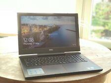 Gaming laptop Dell Inspiron 15 7577 , i7 7th gen, 16GB RAM, GTX 1060 6GB, QWERTY