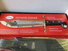 Vintage Case XX Bowie Survival Knife 1836 Leather Scabbard & Box