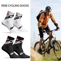 Mens Womens Riding Cycling Socks Bicycle Sports Fitness Socks Breathable Socks