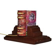 New Miniature Book Nectar del Baghavad Gita w/stand in Spanish hardbound 302 pag