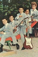 EDDY MITCHELL LES CHAUSSETTES NOIRES 60s CARTE POSTALE VINTAGE #9