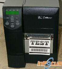 Zebra Z4M Plus 203dpi Direct/Thermal Transfer Label/Barcode Printer
