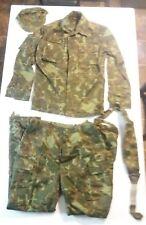 Russian Airborne Soviet Era Camouflage Jacket Coat Pants Suspenders Hat USSR 1