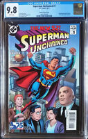 Superman Unchained (2013 DC) #1 Ordway Modern Age Variant CGC 9.8 1:25