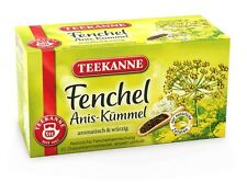 Teekanne Anis Kummel / Fennel Aniseed Caraway tea- 20 tea bags- Made in Germany