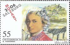 Autriche 2603 (édition complète) neuf 2006 mozart