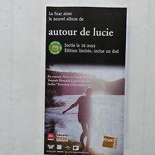 Publicité presse magazine rock an 2000 AUTOUR DE LUCIE Nouvel album 15x29