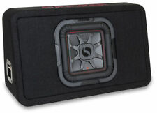 "Kicker 46TL7T84 8"" Solo-Baric 1000-Watts Subwoofer Sub Thin Profile Enclosure"