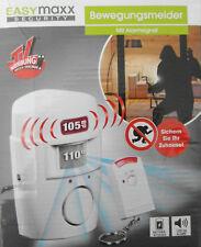 Easymaxx security Bewegungsmelder Mit Alarmsignal 105 DB Alarm Neu