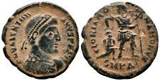 VALENTINIAN I (367-375 AD) Scarce Follis. Cyzicus #PA 8815