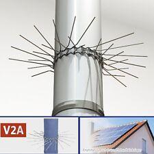 2x Marder-Schutz Edelstahl  Feder-Verschluss bis Ø 100mm anpassbar Fallrohr