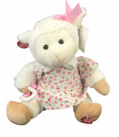 "Cuddle Barn Mary's Little Lamb Animated Song 10"" Plush New With Tags Head Sways"