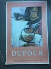 affiche EXPOSITION - DUFOUR -    af327