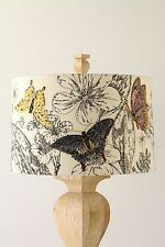 Anthropologie lamp shades ebay anthropologie sketched wings shades lamps butterfly lot of 2 rare lampshade mozeypictures Gallery