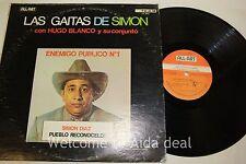 """Simon Diaz Pueblo Reconocelo ! Las Gaitas De Simon LP 12"""" (G)"""