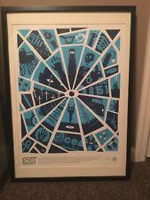 Olly Moss LOST Screen Print Poster Mondo Framed #10/500