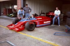 PHOTO  SOURCE BOSS DON WOOD AT THE WHEEL OF THE EX-PATRICK TAMBAY F1 BEATRICE LO