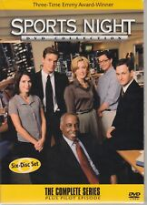Sports Night Complete Series Plus Pilot 6 DVDs Minty