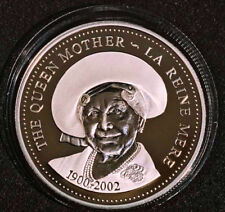 2002 Canada Queen Mother 100th birthday sp ed dollar - no outer box