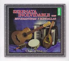Serenata Inolvidable con Estudiantinas y Rondallas Tesoros de Coleccion 3CD Box