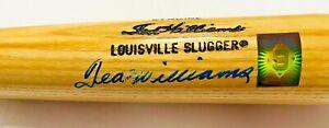 Boston Red Sox Ted Williams Signed Bat Fanatics + Green Diamond