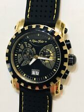 NEW MARC ECKO E18520G1 SWISS CRONOGRAPH DATE St/St 44mm MEN'S Quartz WATCH #49