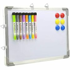 Bethone Dry Erase White Board Hanging Small Magnetic Portable Writing, Drawing