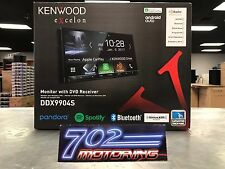 "KENWOOD DDX9904S 6.95"" DVD RECEIVER APPLE CARPLAY ANDROID AUTO HD BLUETOOTH"