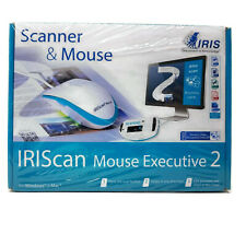 IRIS Scanner & Mouse 458075 IRIScan Mouse Executive 2 New