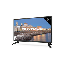 Televisor Led HD Smart TV 24 pulgadas WiFi Internet. TD Systems K24dlh8fs