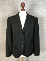 Gerry Weber Womens Blazer Size 16 Uk Black
