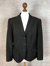 Gerry Weber Womens Blazer Size 16 Uk Black