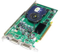 Dell N4077 nVidia Quadro FX1300 128MB DDR with TV-Out PCI-E Graphics Card