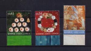 CYPRUS 2020 CHRISTMAS MNH SET STAMPS