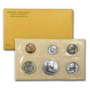 1961 US UNITED STATES MINT SILVER PROOF COINS SET OGP