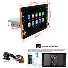 1Din 9in Car Multimedia MP5 Player Android 8.1 GPS Wifi Mirror Link +Rear Camera