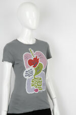 Paul Frank -Large- $29 Ladies Grey Angry Guts T-Shirt Julius Friends 2426001791